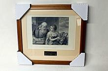 G. Huntington - Philosophy and Christian Art - Original Woodblock