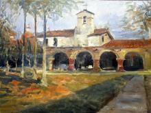 Sanctuary - Original Painting by Jorn Fox
