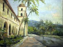 Paradise - Original Painting by Jorn Fox