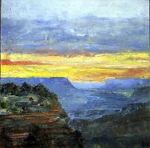 Setting on the Horizon - Original by Jorn Fox