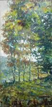 Aspen Trees in Summer - Original by Jorn Fox