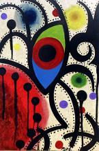 The Eye 1973 - Oil on Paper - Joan Miro