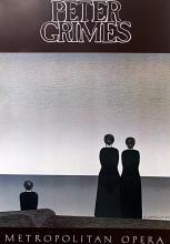 Gallery Poster Peter Grimes: Metropolitan Opera after Will Barnet
