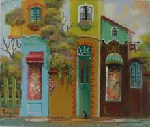 Original Oil on Panel by Jocov Nowogroder