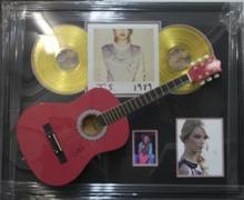 Taylor Swift - Hot Pink Acoustic Guitar
