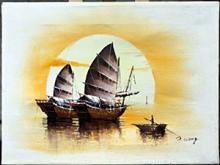 P. Wong - Original Acrylic Painting