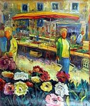 Nicolas R. - Original Acrylic on Canvas