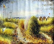 V. Levieils - Original Acrylic on Canvas