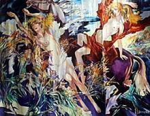 I. Semeka - Original Acrylic on Canvas