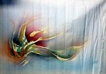Plueta Mexicana - Original Mixed Media on Canvas
