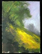 Michael Schofield - Lavender Setting - Original Painting