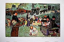 The Flower Seller - Lithograph - Pablo Picasso