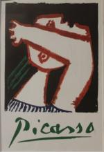 Lithograph - Poster of a Woman - Picasso
