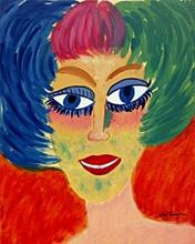 Portrait of a Woman 1957' - Kees Van Dongen