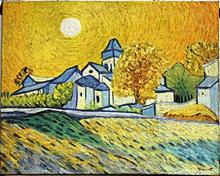 Noon in Arles - Oil on Canvas - Vincent Van Gogh