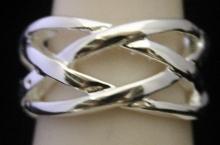 Fancy Silver Designer Band (243I)