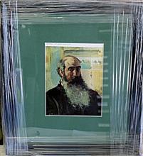 Pissarro - Self Portrait - Lithograph