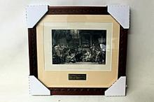 Sir George - The Trial of Lord William Russell, 1683 - Original Woodblock