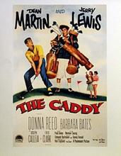 Movie Poster - The Caddy Starring Dean Martin & Jerry Lewis