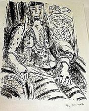 Lithograph after Henri Matisse