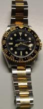 All Original 18kt GMT Two-Tone DateJust Rolex Watch