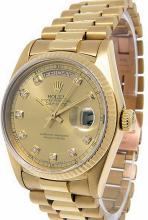Mens 18K Presidential DayDate Rolex Watch