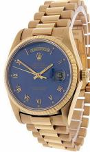 Mens Day-Date 18K Presidential Rolex Watch