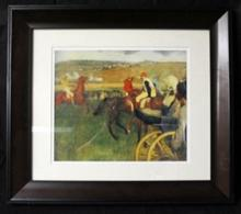 Edgar Degas - At the Races - Lithograph