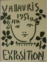 Lithograph - 1957 Vallavris Expo - Picasso