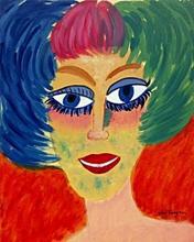 Portrait of a Woman 1957' - Kees Van Dongen