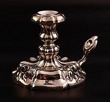 Vienna Antique Silver Candlestick