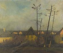 Jenő, id. Benedek (1906-1987): Homestead in Szolnok (1928)