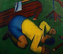 Sándor A. Tóth (1904-1980): Boy Scout (Keeper of Fire) (1935)