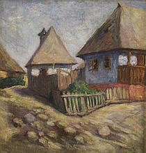 Margit Bencze: Street of Nagybánya