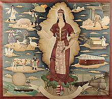 Barna Basilides (1903-1967): Our Lady of Hungary