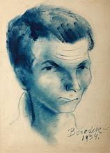 Jenő, id. Benedek (1906-1987): Portrait of a Man