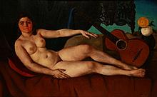 János Apátfalvi Czene (1904-1984): Nude, 1940.