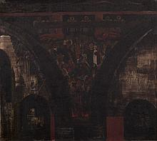 Vilmos Aba Novák (1894-1941): The plan of Cemetery Chapel's Fresco in Pécs