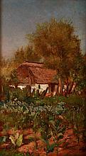 Gyula Aggházy (1850-1919): Cabbage Garden