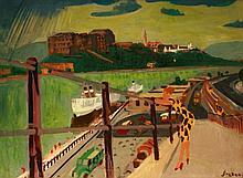József Breznay (1916-2012): Quay of Pest