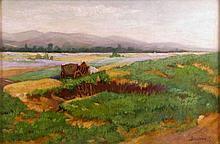 István Bosznay (1868-1944): Ox Cart