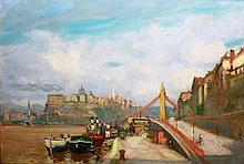István Boldizsár (1897-1984): Belgrád quay