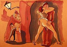 Eric Vogel (1907-1996) 10 Erotic Scenes