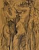 Ödön Márffy (1878-1959) Three Nudes