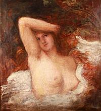 Kazacsay Gerőné (Hirsch Lujza) (1871-?) Nude