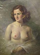 Miklós Mihalovits (1888-1960) Female Nude