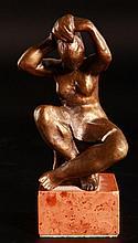 Pál Pátzay (1896-1979) Combing