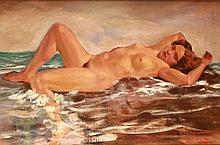 Ágoston Szegedi Kovács (1888-1978) Sleeping Nude