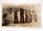 EARLY RPPC REAL PHOTO POSTCARD OF SOLDIERS EXECUTING BANDITS IN MEXICO