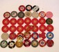LOT OF 25 OBSOLETE NEVADA CASINO GAMBLING POKER CHIPS